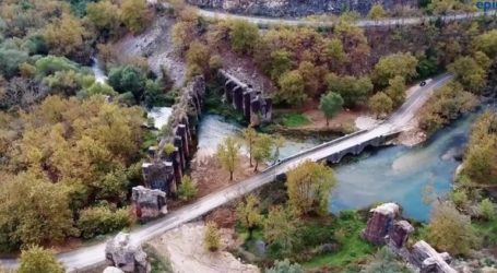 Το Ρωμαϊκό Υδραγωγείο της Φιλιππιάδας από ψηλά