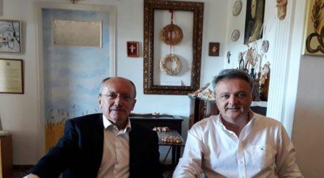 Συνάντηση δημάρχων Ωρωπού και Μαραθώνα για την προσέλκυση ευρωπαϊκών κονδυλίων