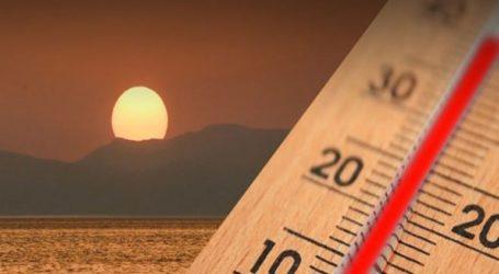 Υψηλές θα παραμείνουν οι θερμοκρασίες έως το τέλος της εβδομάδας
