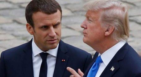 Τηλεφωνική επικοινωνία Μακρόν – Τραμπ για την κατάσταση στη βόρεια Συρία