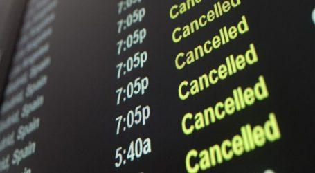 Ταλαιπωρία επιβατών λόγω ακυρωμένων πτήσεων