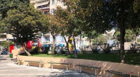«Λίφτινγκ» στο πάρκο του Αγίου Δημητρίου