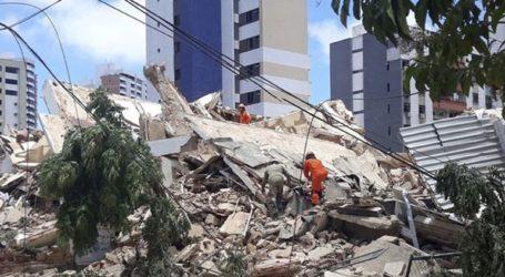 Επταώροφο κτήριο κατέρρευσε στη Βραζιλία