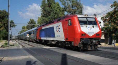 ΤΡΑΙΝΟΣΕ: Διακοπή κυκλοφορίας στο τμήμα Οινόη