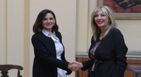Συνάντηση της Όλγας Κεφαλογιάννη με την Υπουργό Ευρωπαϊκής Διεύρυνσης της Σερβίας