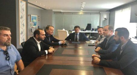 Σύσκεψη για τα Λουτρά Πόζαρ πραγματοποιήθηκε στο υπουργείο Τουρισμού