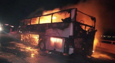 35 νεκροί σε τροχαίο με λεωφορείο