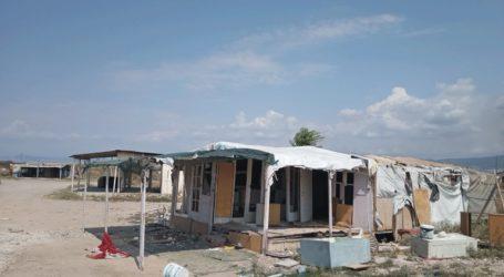 Απομάκρυνση των Ρομά από αγροτεμάχιο στην Περαία
