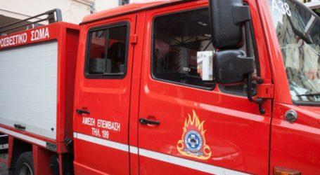 Πυρκαγιά σε εργοστάσιο ανακύκλωσης στη δυτική Θεσσαλονίκη