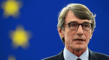 Αυστηρότερες κυρώσεις κατά της Άγκυρας ζήτησε ο πρόεδρος του Ευρωπαϊκού Κοινοβουλίου