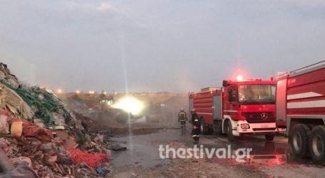 Υπό έλεγχο η πυρκαγιά σε εργοτάξιο ανακυκλώσιμων στη δυτική Θεσσαλονίκη