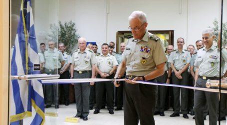 Εγκαινιάστηκε η ανακαινισμένη Λέσχη Αξιωματικών του Γενικού Επιτελείου Στρατού
