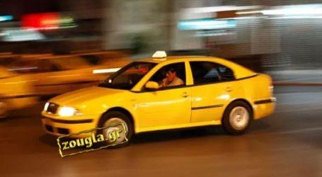 Μεροκάματο τρόμου για έναν οδηγό ταξί