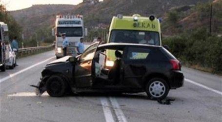 Tροχαία ατυχήματα στο Ηράκλειο λόγω βροχόπτωσης