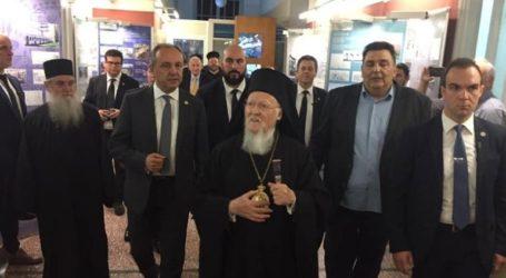 Επίσκεψη του Οικουμενικού Πατριάρχη στο Διοικητήριο