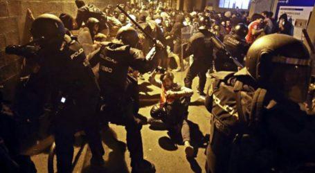 Στους δρόμους και πάλι χιλιάδες αυτονομιστές στη Βαρκελώνη