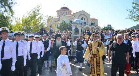 Με κάθε λαμπρότητα εορτάστηκε ο πολιούχος του νησιού Άγιος Γεράσιμος