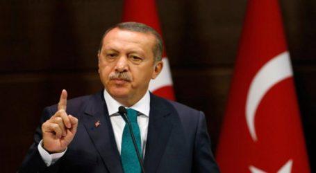 Νέα εκτόξευση απειλών από τον Ερντογάν περί συνέχισης της εισβολής