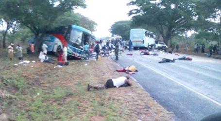 Πολύνεκρο τροχαίο δυστύχημα με λεωφορείο στο Κονγκό