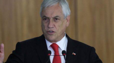 Πρόεδρος Χιλής: «Βρισκόμαστε σε πόλεμο»