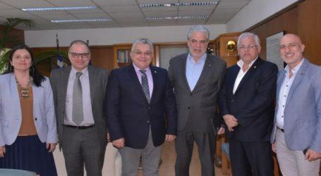 Συνάντηση του πρύτανη του ΑΠΘ με τον επίτροπο Στυλιανίδη για το εκπαιδευτικό και ερευνητικό έργο
