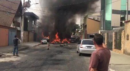 Βραζιλία: Αεροπλάνο συνετρίβη σε αυτοκινητόδρομο