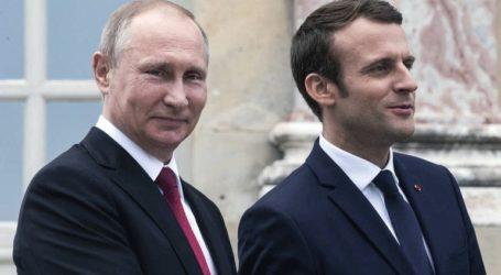 Τηλεφωνική συνομιλία Πούτιν και Μακρόν με θέμα τη Συρία και την Ουκρανία