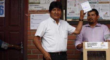 προεδρικές εκλογές: Αυξάνεται το προβάδισμα του Έβο Μοράλες