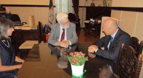 Συνάντηση του δημάρχου με τον Πρέσβη της Τσεχίας για θέματα συνεργασίας στον πολιτισμό