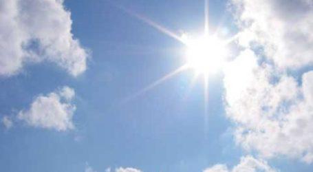 Μέχρι 28 βαθμούς θα δείξει το θερμόμετρο την Πέμπτη