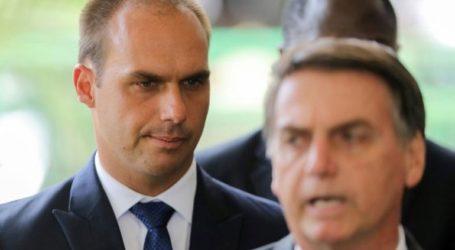 Ο γιος του προέδρου της Βραζιλίας απέσυρε την υποψηφιότητά του για τη θέση του πρέσβη της χώρας στις ΗΠΑ