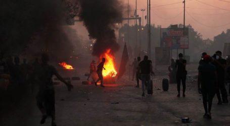 Συγκρούσεις αστυνομίας και διαδηλωτών στη Βαγδάτη