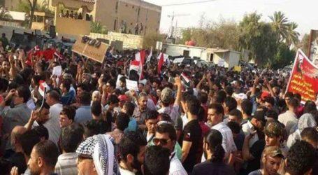 Διαδηλωτές πυρπόλησαν κυβερνητικό κτίριο στη νότια πόλη Νασιρίγια