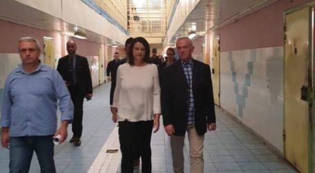 Το Ειδικό Κατάστημα Κράτησης Νέων Αυλώνα επισκέφτηκε η υπουργός Παιδείας