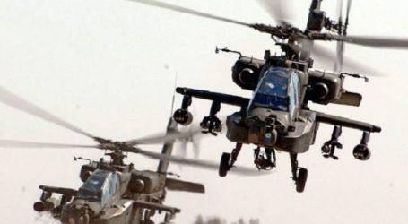 Στο Στεφανοβίκειο ελικόπτερα Apache και εξοπλισμός της 3ης ταξιαρχίας Στρατού των ΗΠΑ