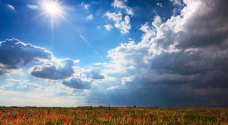 Λιακάδα την Κυριακή με θερμοκρασίες έως 29 βαθμούς