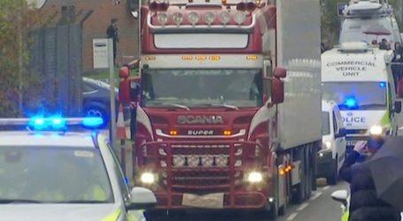 Μέρος κομβόι τριών οχημάτων το «φορτηγό του θανάτου» στο Έσσεξ