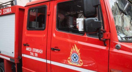 Φωτιά σε εργοστάσιο στο Ηράκλειο Κρήτης