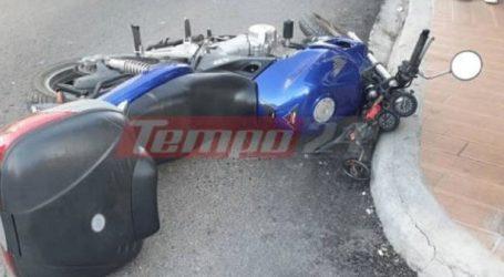 Τροχαίο ατύχημα με μία τραυματία