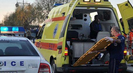 Τροχαίο δυστύχημα στην επαρχιακή οδό Γιαννιτσών