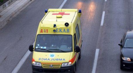 Τροχαίο δυστύχημα στα Χανιά – Μια νεκρή και ένας τραυματίας