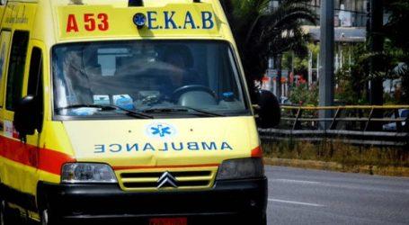 Τροχαίο ατύχημα με καραμπόλα τριών αυτοκινήτων