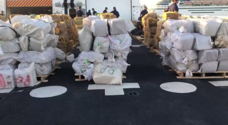 Κατασχέθηκε σχεδόν ένας τόνος κοκαΐνη με προορισμό το Βέλγιο