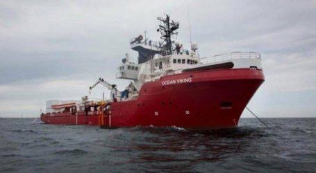 «Πράσινο φως» στο Ocean Viking να αποβιβάσει στη Σικελία 104 μετανάστες
