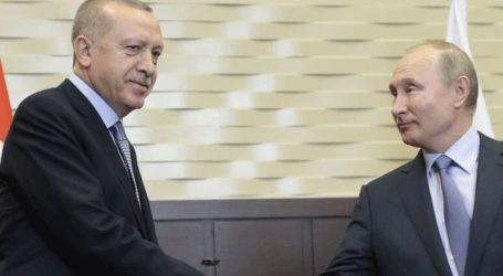 Ο Ερντογάν δεν αποκλείει την πιθανότητα νέας συνομιλίας με τον Πούτιν