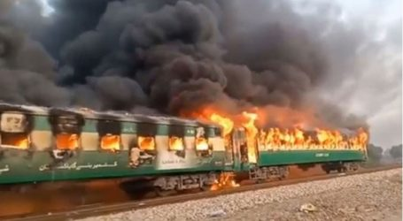 Τουλάχιστον 46 άνθρωποι έχασαν τη ζωή τους εξαιτίας πυρκαγιάς σε τρένο