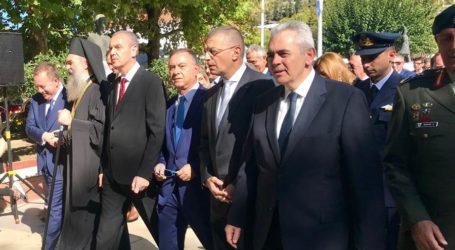 Χαρακόπουλος στην 107η επέτειο Απελευθέρωσης της Ελασσόνας: Αρραγές εθνικό μέτωπο απέναντι στον τουρκικό αναθεωρητισμό