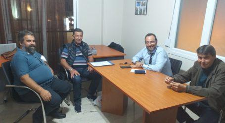 Συνάντηση του Κωνσταντίνου Μαραβέγια με το Σύλλογο Νεφροπαθών Μαγνησίας