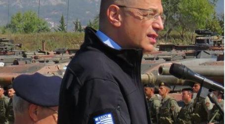 Ο υφυπουργός Εθνικής Άμυνας στην 1η ΤΑΞΑΣ στο Στεφανοβίκειο