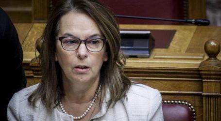 Κατερίνα Παπανάτσιου: Στη Βουλή οι ζημιές από το χαλάζι στη Σκόπελο